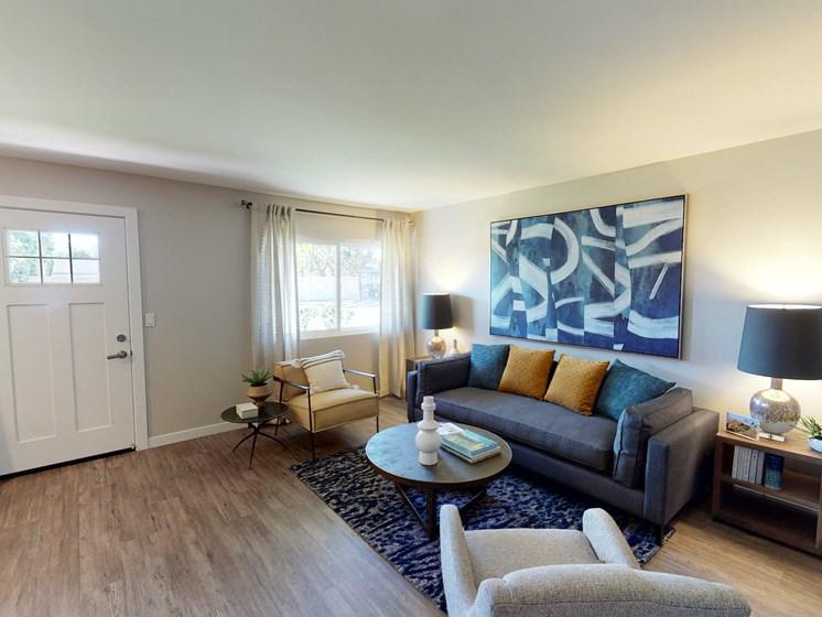 Vercanta Newport Beach   Newport Beach, CA   Living Room & Entryway
