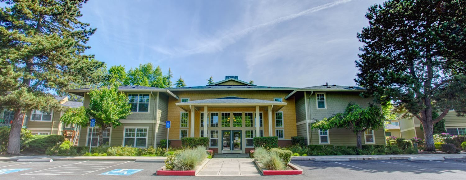 Open parking space at Commons at Timber Creek Apartments, Portland, OR, 97229