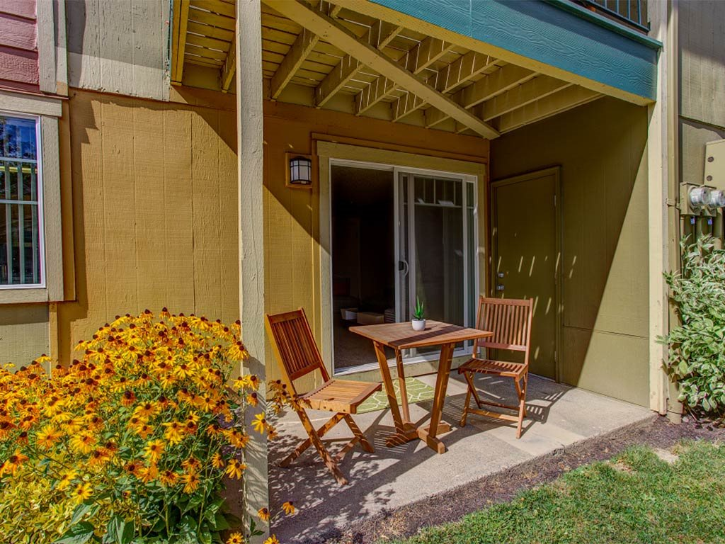 Off-Apartment Patio at Commons at Timber Creek, Portland, 97229