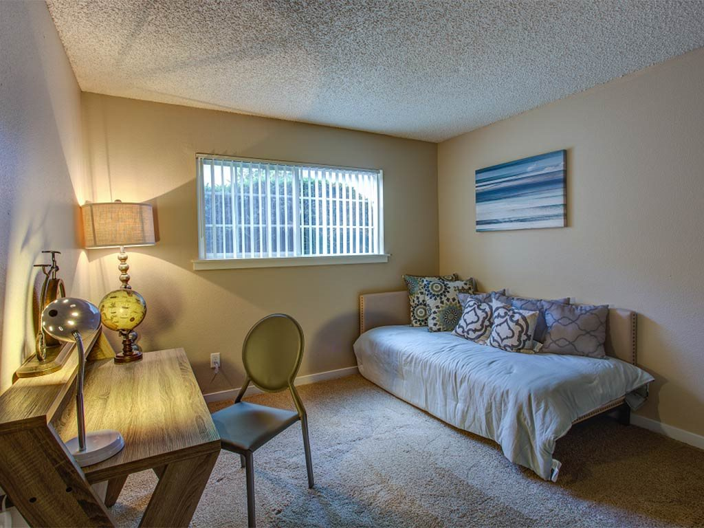 Cozy Bedrooms at Commons at Timber Creek, Portland