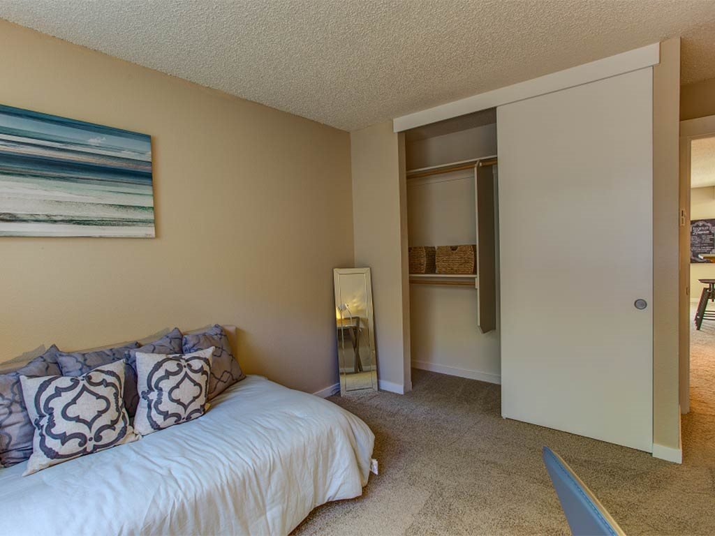Second Bedroom with Closet at Commons at Timber Creek, Portland, Oregon
