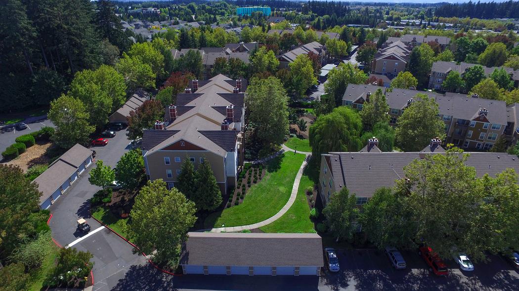 Commons at Verandas Apartments in Hillsboro Oregon