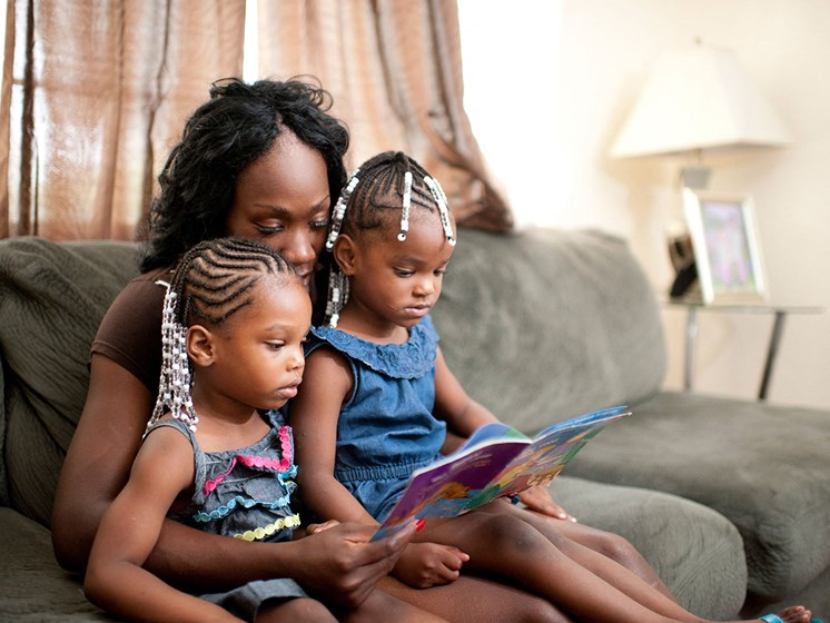 Family of Residents Reading