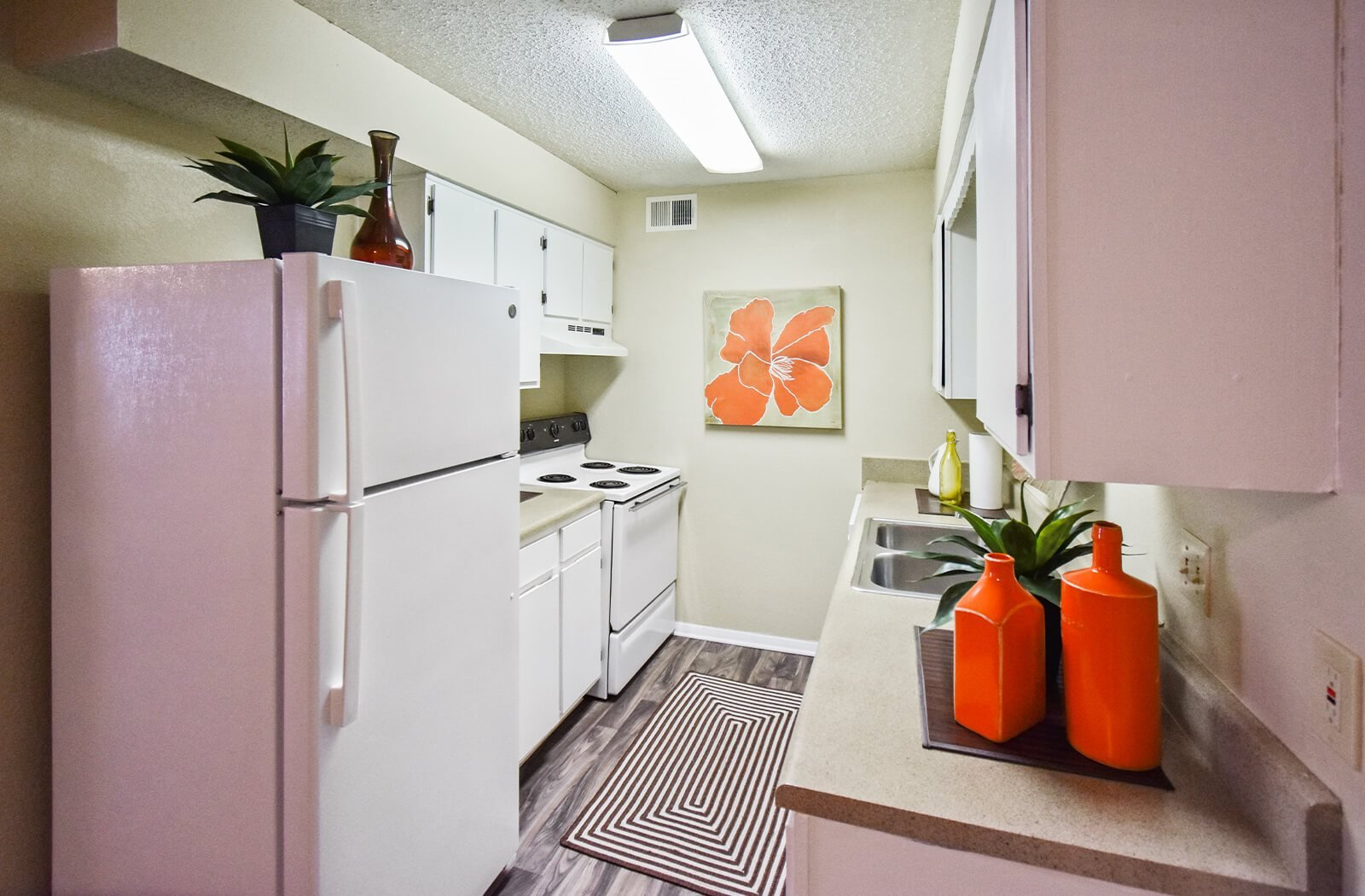 The Berkley Apartments kitchen