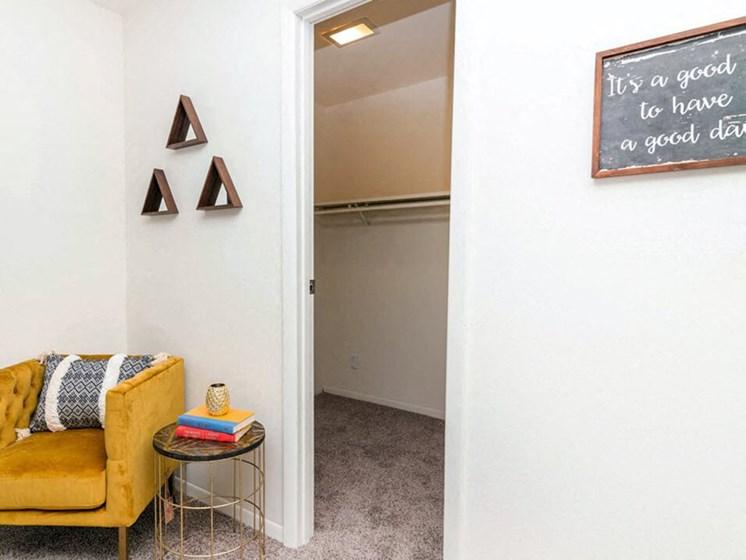 spacious closets at Grand Rapids MI apartments