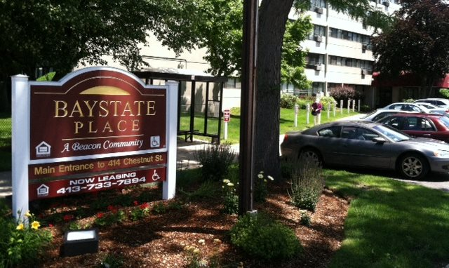 Baystate Place sign