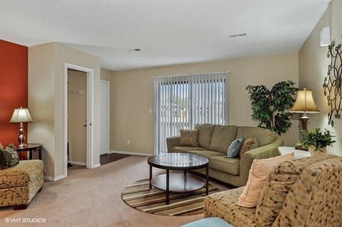 Private Entrances in Select Units, at Suncrest Apartment Homes, 1135 Suncrest Circle, Indianapolis