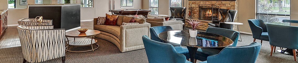 Community Clubhouse, at Suncrest Apartment Homes, 46241, IN