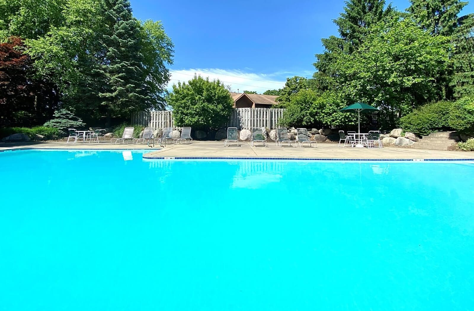 swimming pool at Old Farm Shores