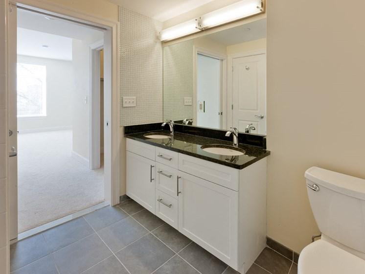 Double Raised Bowl Bathroom Sinks at 7 Cameron, Cambridge, MA