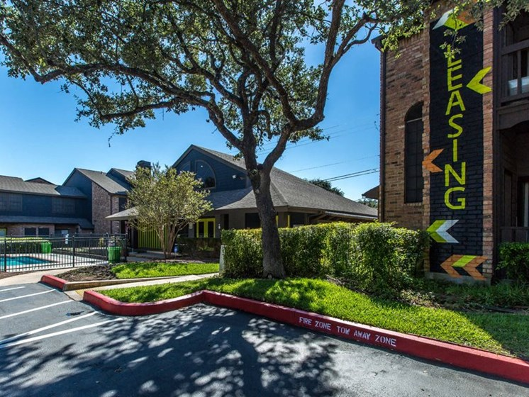 Property Entrance at Balcones Club, Austin, 78750
