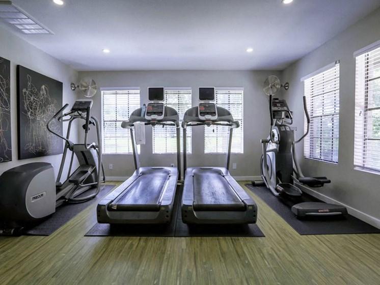 Cardio Machines In Gym at Balcones Club, Texas