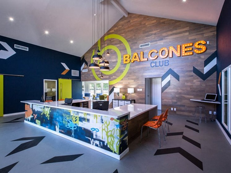 Leasing Office at Balcones Club, Texas