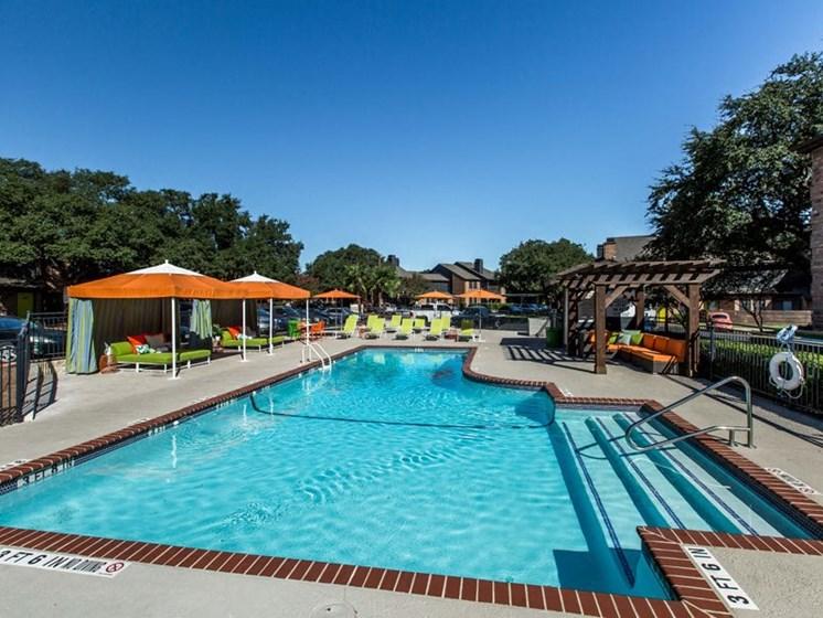 Blue Cool Swimming Pool at Balcones Club, Austin, 78750