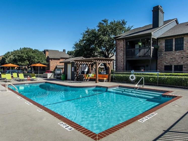 Crystal Clear Swimming Pool at Balcones Club, Austin, Texas