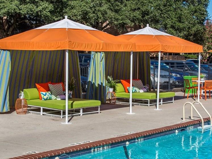Poolside Cabana at Balcones Club, Austin