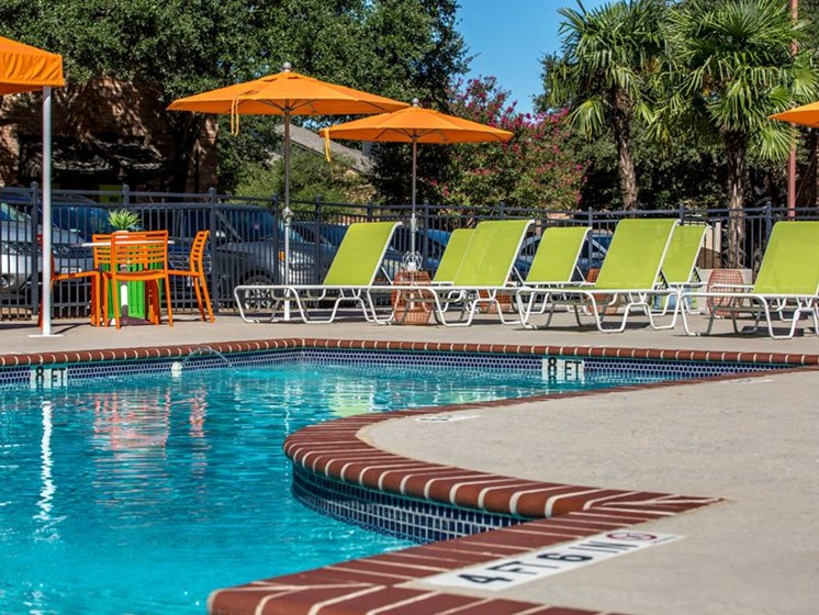 Relaxing Pool Area With Sundeck at Balcones Club, Texas