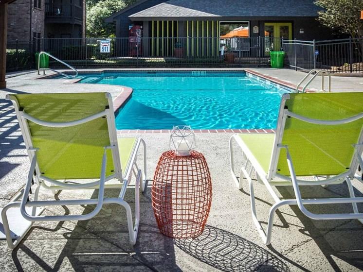 Poolside Sundeck at Balcones Club, Austin, 78750