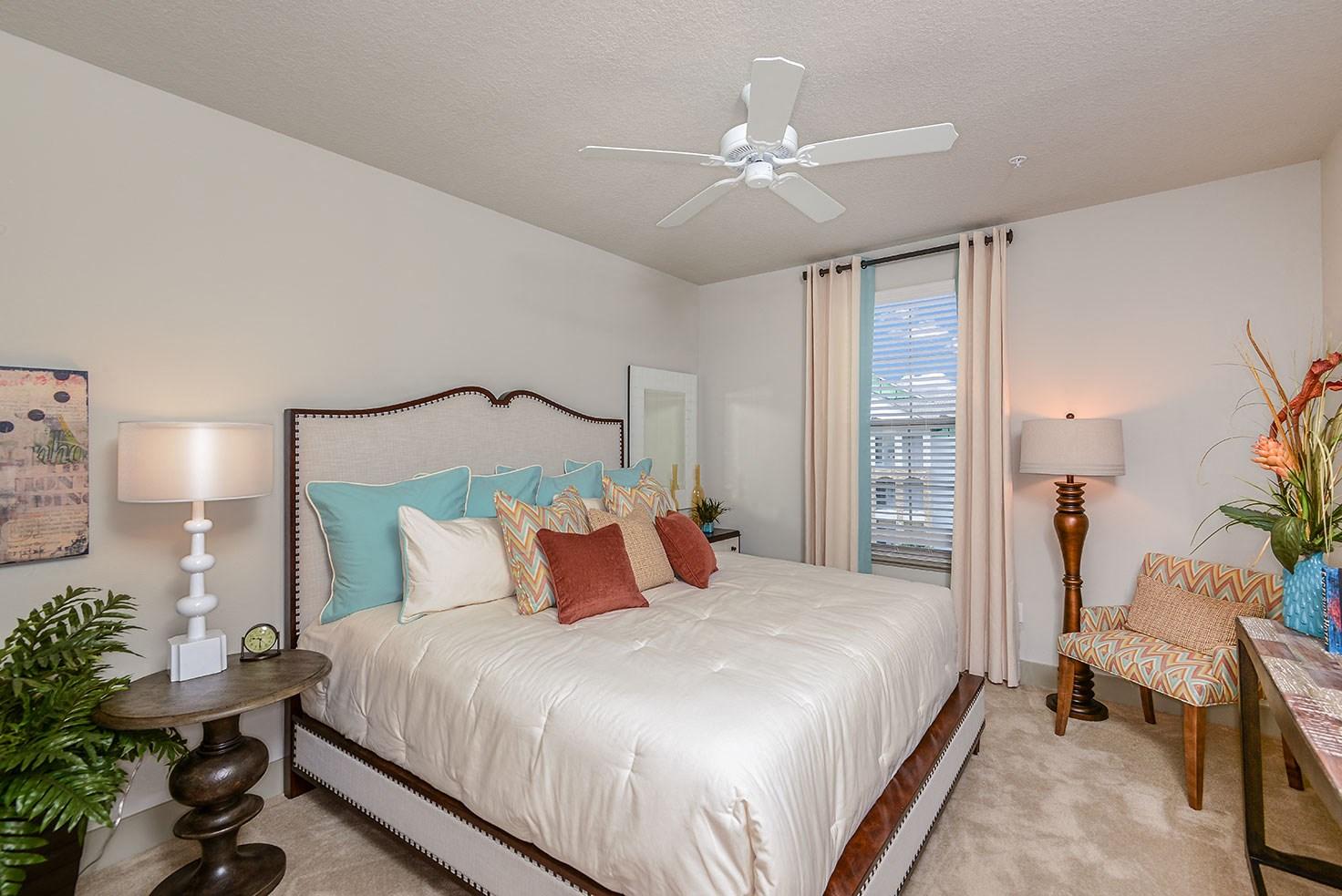 Bedroom at Circa at FishHawk Ranch in Lithia, FL