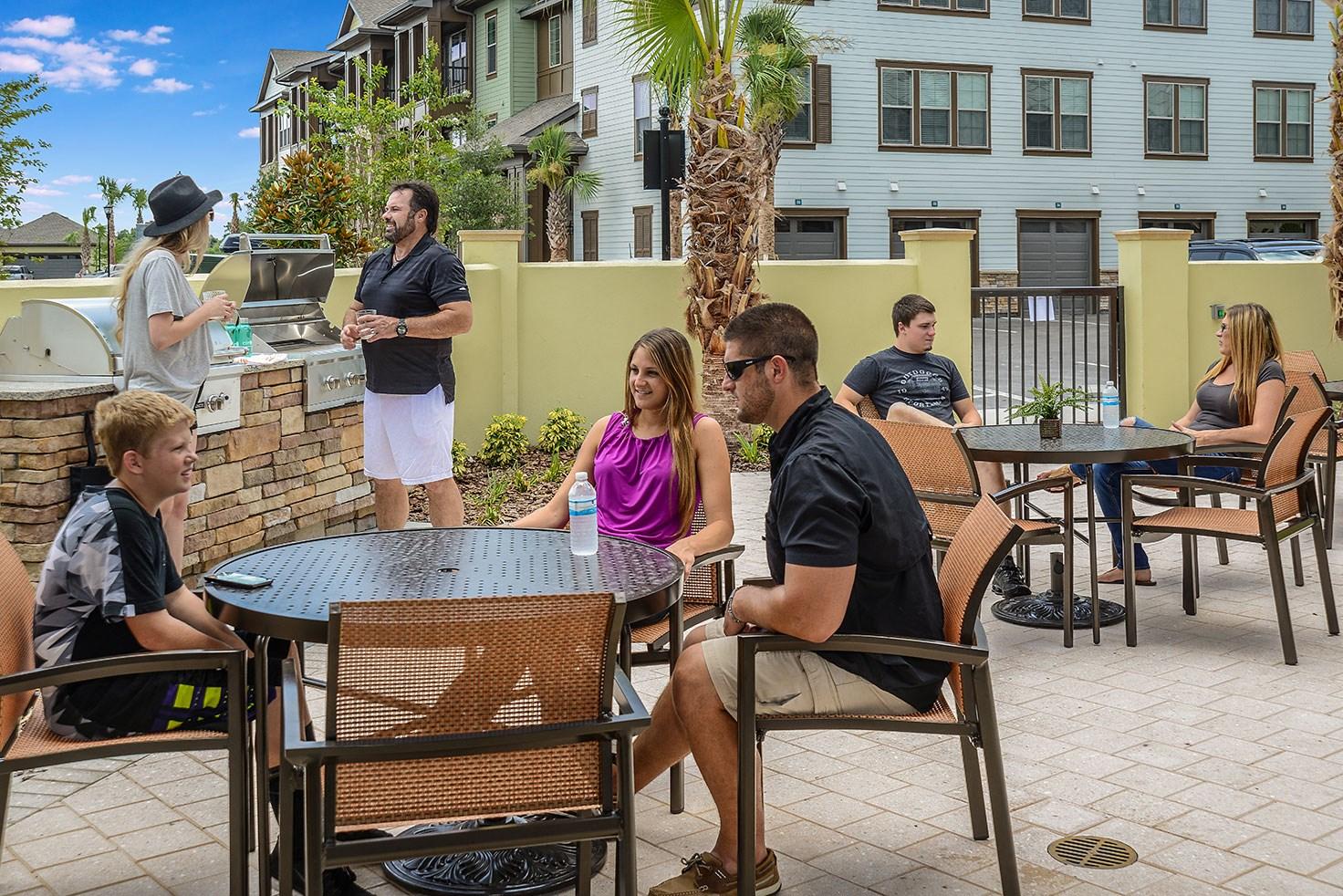 Grills at Circa at FishHawk Ranch Apartments in Lithia, FL