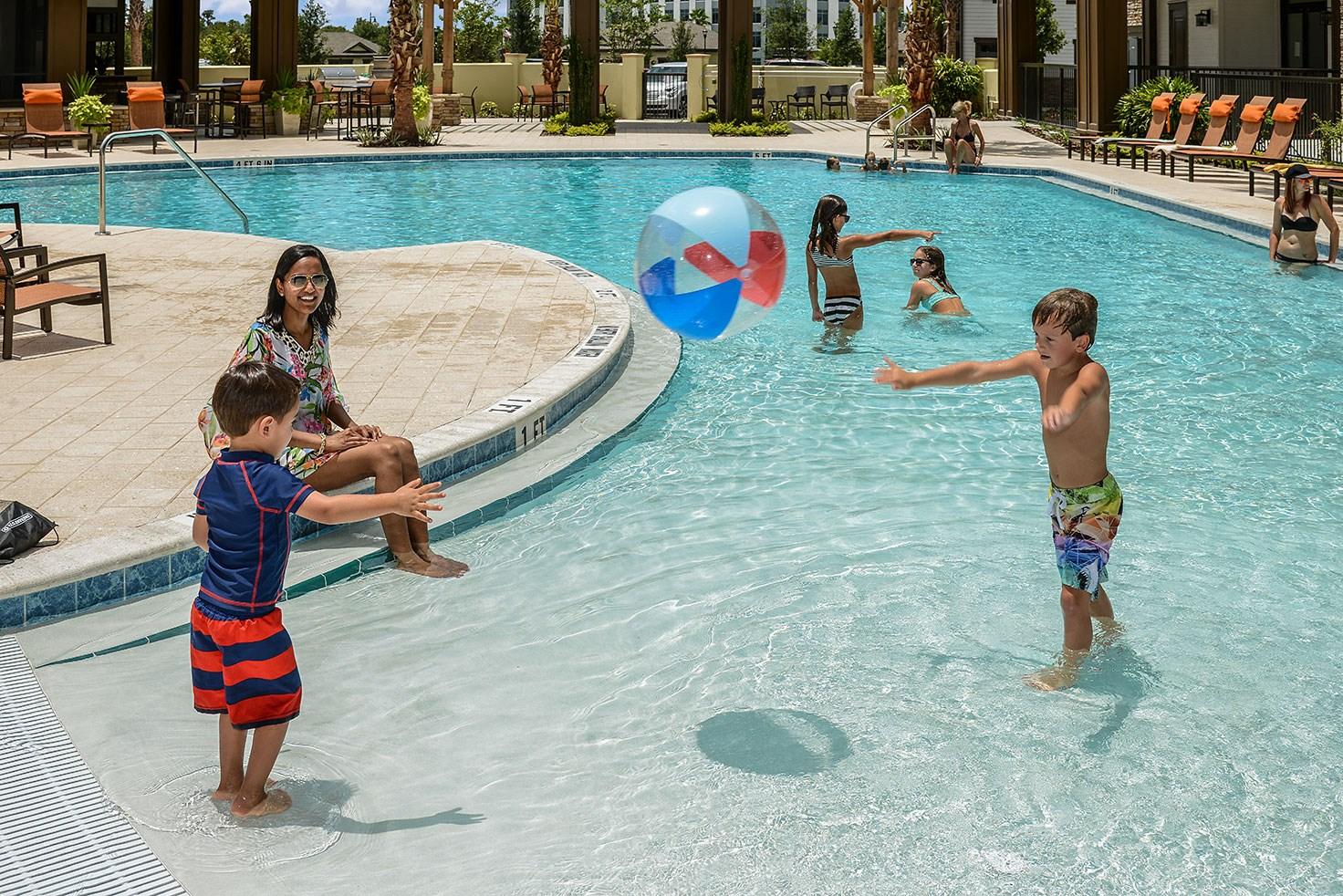 Swimming Pool at Circa at FishHawk Ranch in Lithia, FL