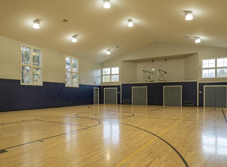 Full Size Basketball Court at Edgewater Apartments, Boise, Idaho
