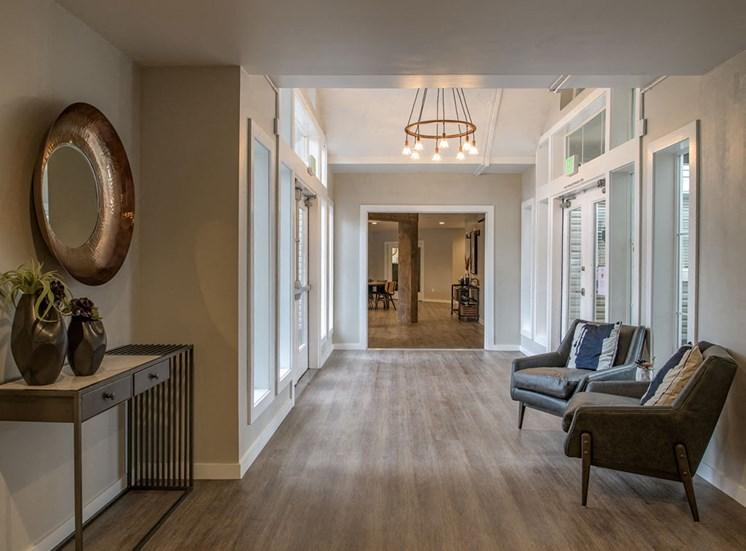 Luxurious Hallway at Edgewater Apartments, Idaho