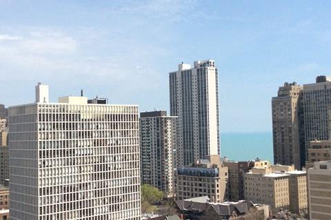 Gorgeous City View at 14 West Elm Apartments, Chicago,Illinois