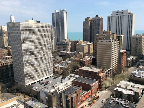 Incredible City Views at 14 West Elm Apartments, Chicago, 60610