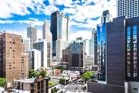 Fantastic City Views at 14 West Elm Apartments, Illinois, 60610