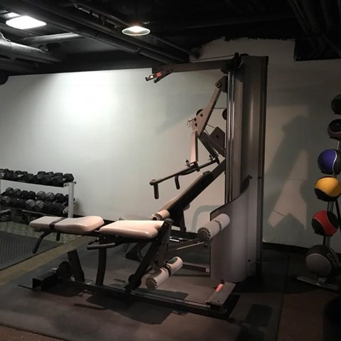 Free Weights at Park View Apartments, Chicago, IL 60614