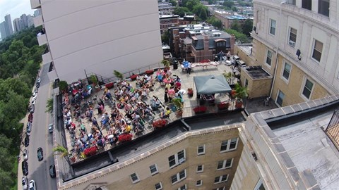 Party with Air Water Show Event at Park View Apartments, Chicago, 60614