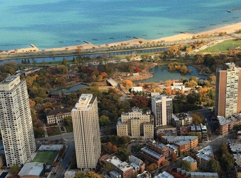 Park View Apartments Birds Eye View at Park View Apartments, Chicago,Illinois