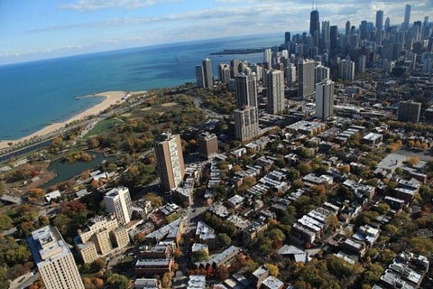 Bird Eye View at Park View Apartments, Chicago, IL