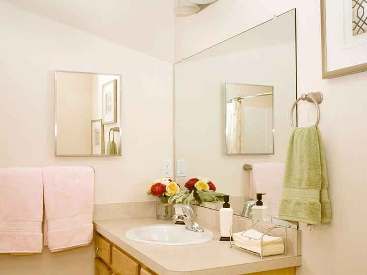 Wooster Ohio Apartment rentals Redwood wooster mindy lane bathroom