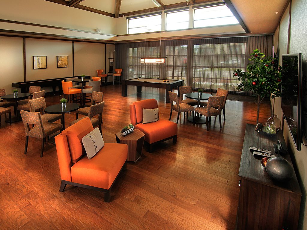 Enjoy the Game Room with Billiards, Darts and Gaming Systems at Arbour Commons, Westminster