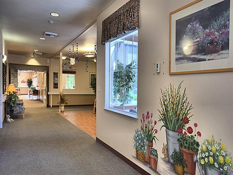 Lobby Area at Westmont of Pinole, California, 94564