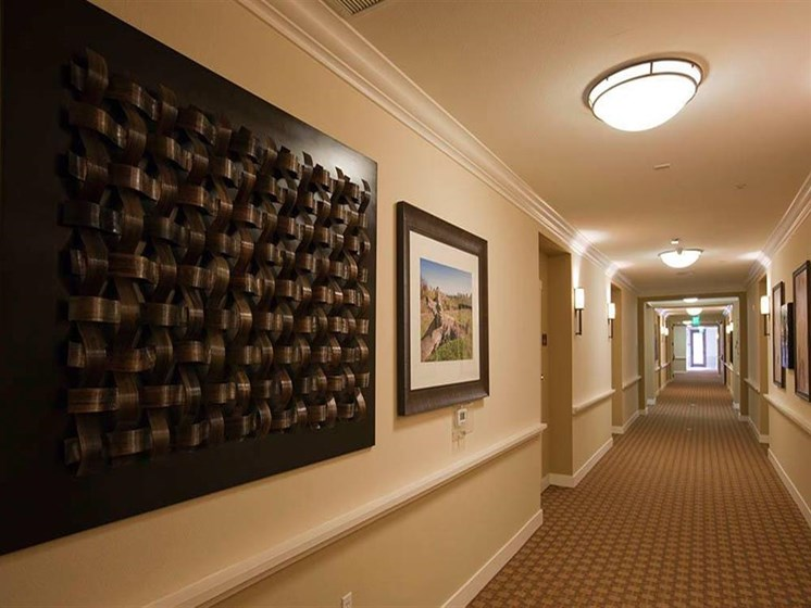 Lobby Area at Westmont of Morgan Hill, California