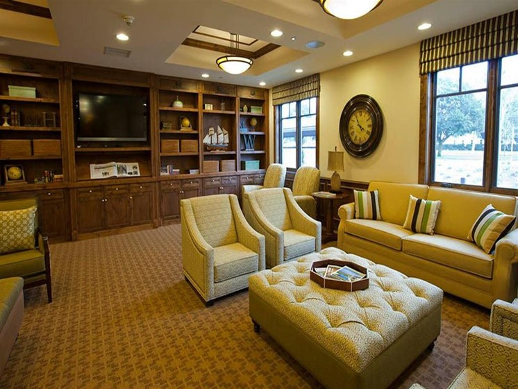 Clubroom With Smart Tv And Ample Of Sitting Area at Westmont of Morgan Hill, Morgan Hill, CA, 95037