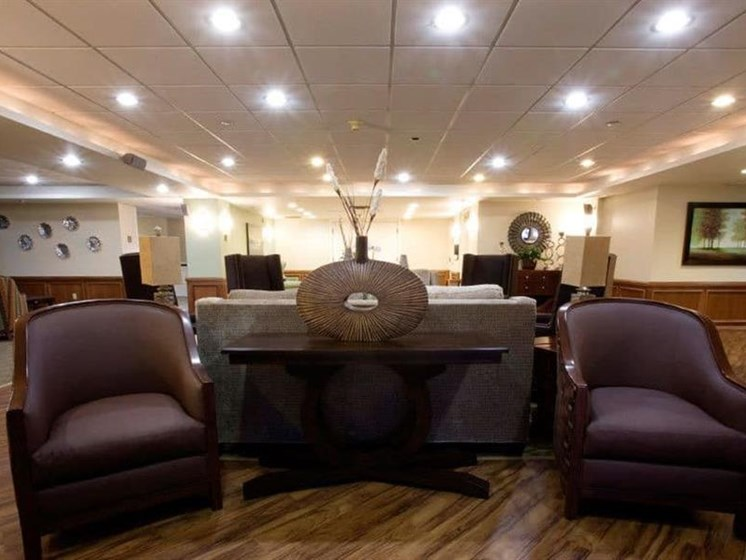 Posh Resident Lounge at Westmont Town Court, Escondido, CA