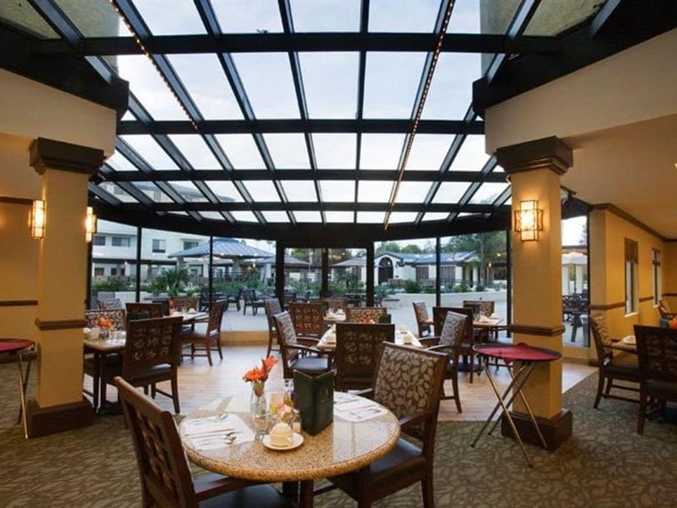 Restaurant Style Dining at Westmont Town Court, California