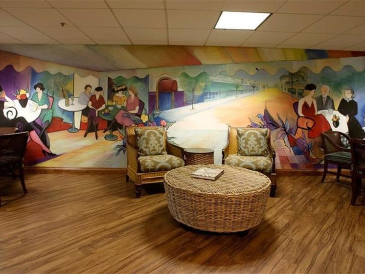 Reading Area at Westmont Town Court, California, 92025