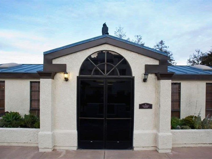 Leasing Center External View at Westmont Town Court, California, 92025