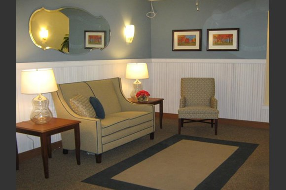 Beautifully Furnished Living Room at Highlands at River Crossing Sitting Area, Wisconsin 54986