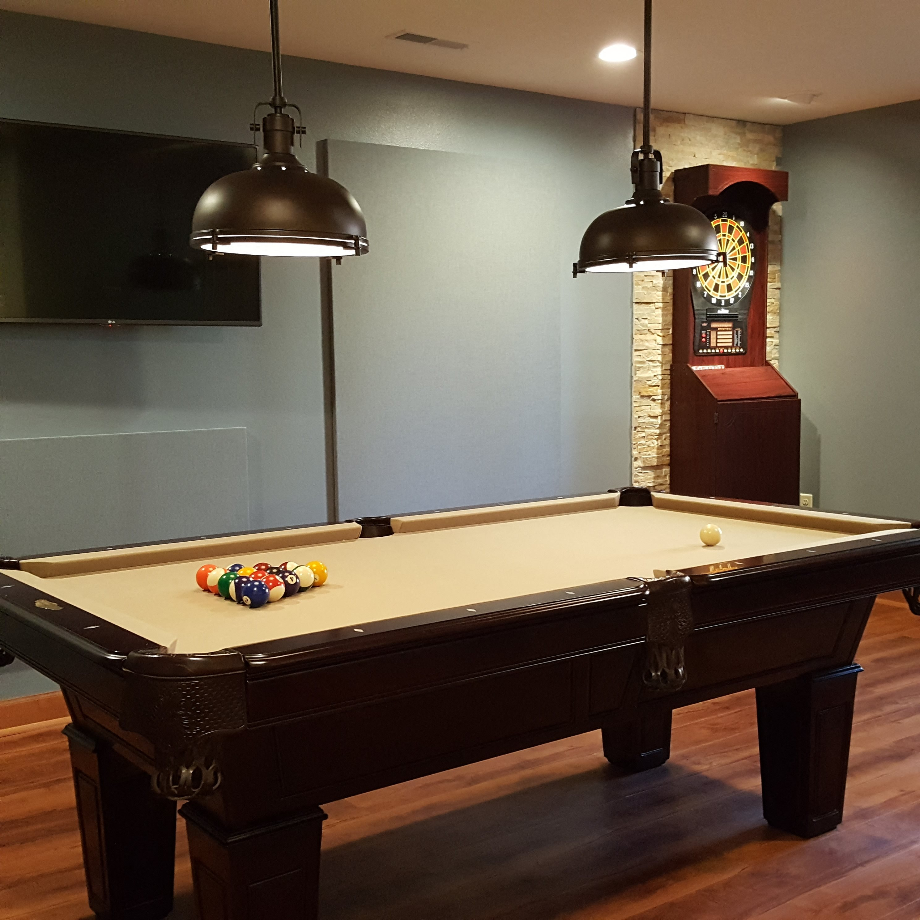 Clubhouse with Billiards, Darts, Bar & Lounge at Brookfield Highlands Apartments 55+, Waukesha, WI,53186