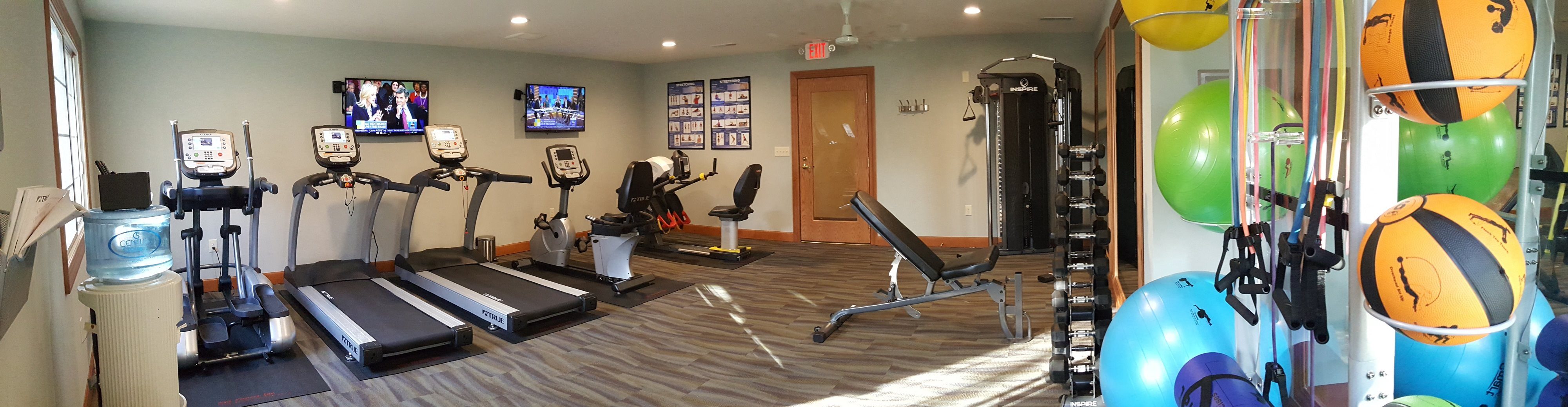 Fully Equipped Fitness Center at Brookfield Highlands Apartments 55+, 20825 George Hunt Circle, 53186