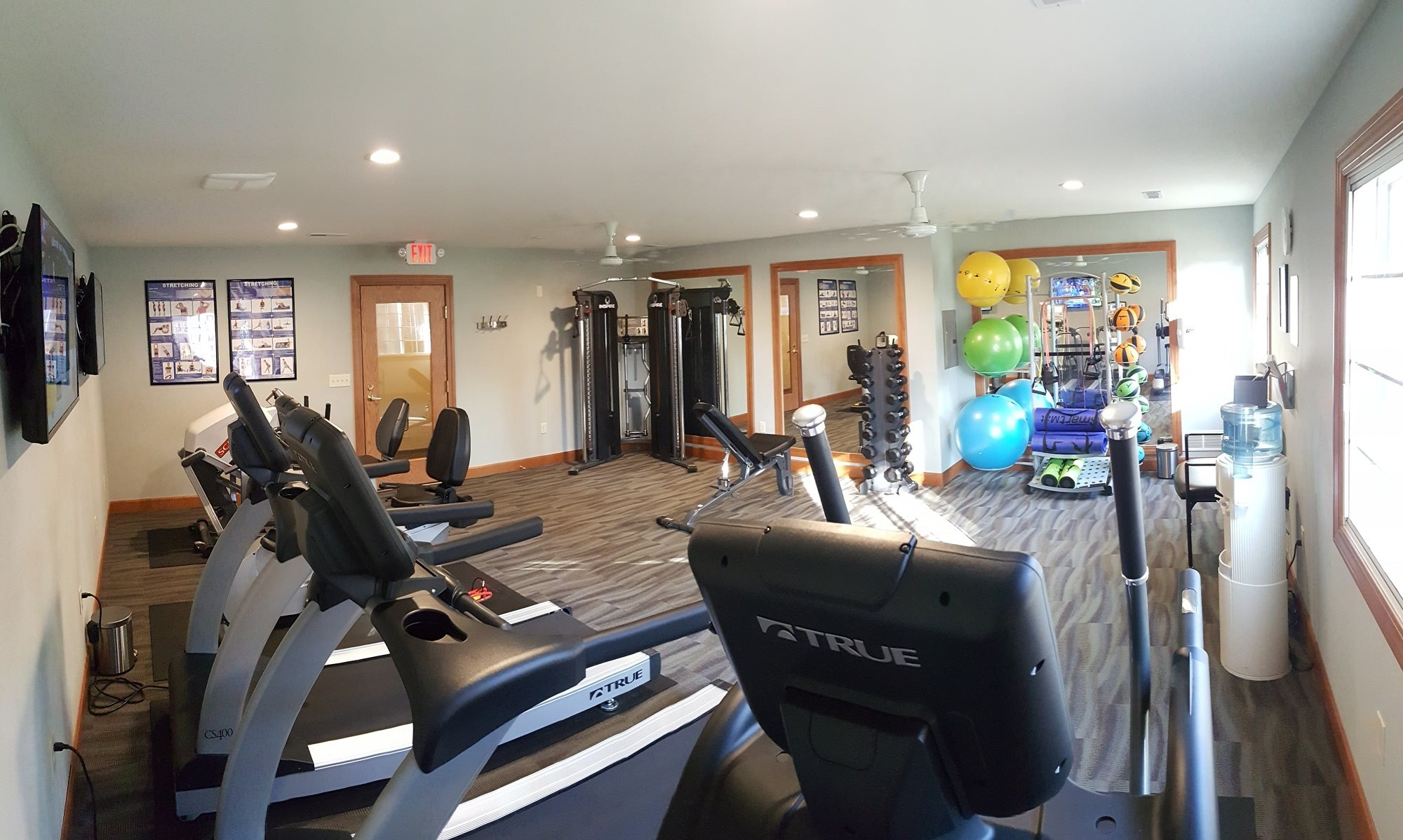 State-of-the-Art Fitness Centerat Brookfield Highlands Apartments 55+, 20825 George Hunt Circle, Waukesha, WI