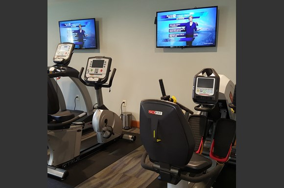 Fully Equipped Fitness Center at Brookfield Highlands Apartments 55+, Waukesha, WI,53186