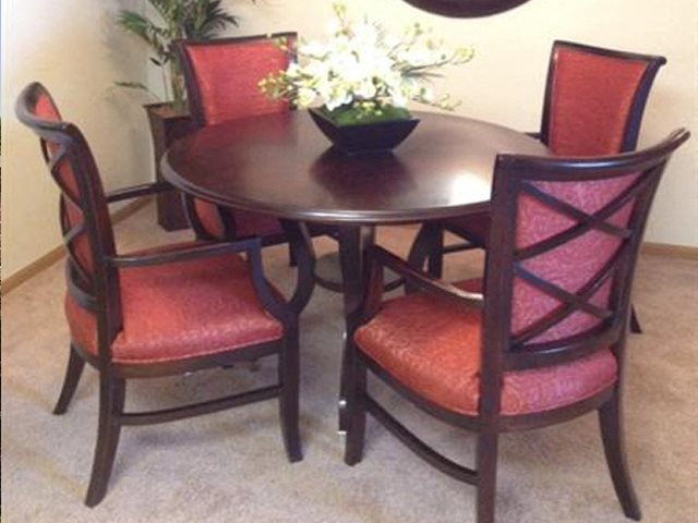 Separate Dining Area at Foresthill Highlands Apartments & Townhomes 55+, WI 53132