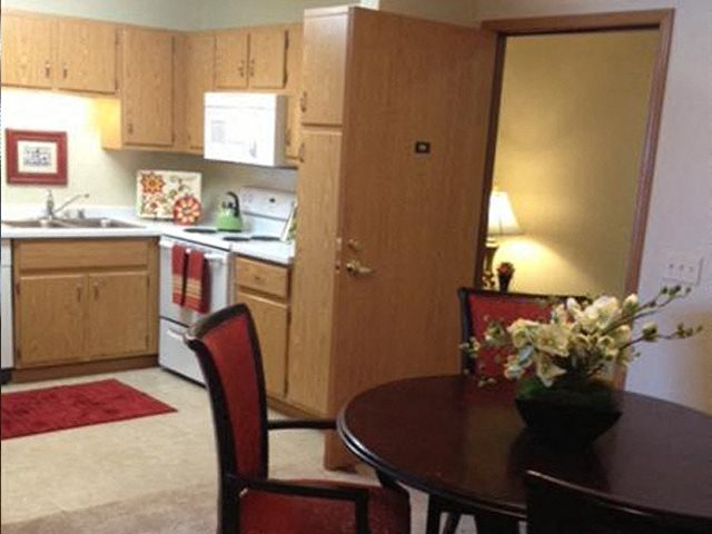 Open Floor Plans With Separate Dining Area at Foresthill Highlands Apartments & Townhomes 55+, 8930 West Highland Park Avenue, Wisconsin 53132